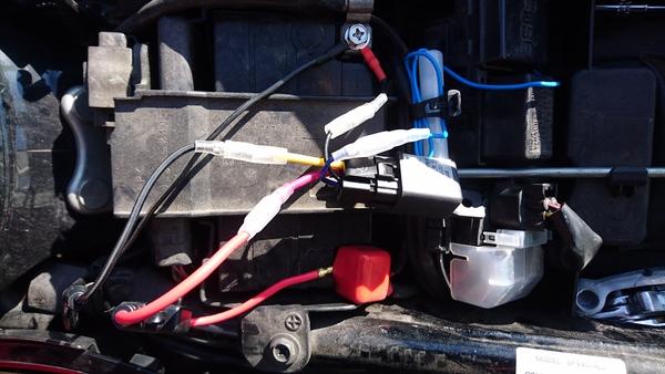 キーON連動!他部品影響無し!でバイクにUSB電源を取付ける方法 ...