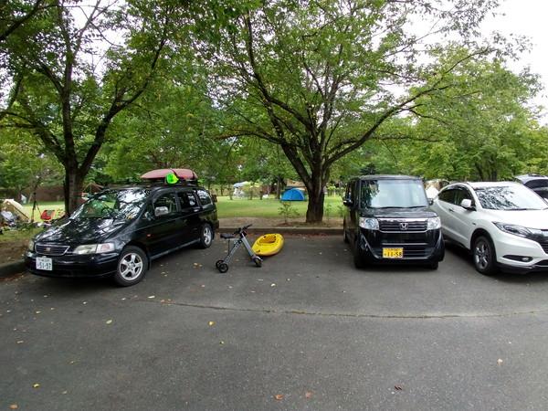 かじかの里公園駐車場